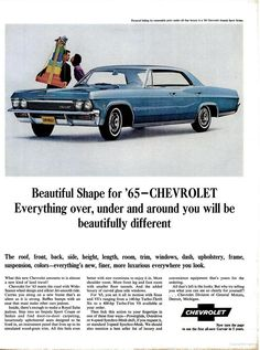 Preview of a 1965 Chevy Impala in 1964