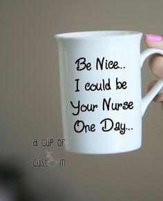 Nurse Coffee Mug-Custom Coffee Cup-Personalized Mug-Student Nurse Gift-Coffee Lover Gift-Coffee Cup-Funny Coffee Mug-Christmas Gifts-Mug