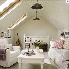 nice attic room