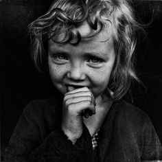 Love your angel kisses (aka freckles) photo by Lee Jeffries