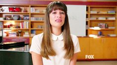 """And while she sang, the original Gleeks broke down. 