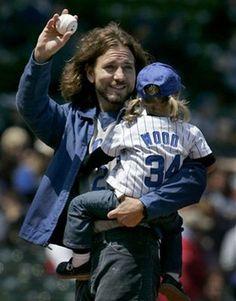 Eddie Vedder And Family | Eddie Vedder's Daughter, Olivia | Rock Star Children | Comcast.net ...