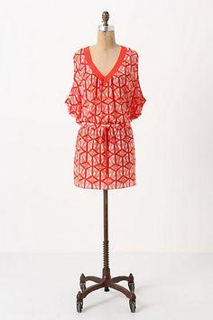 Fun summer dress: Anthropologie