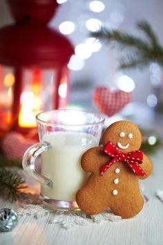 Eggnog + gingerbread cookie