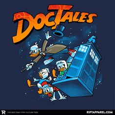 ''DocTales'' by Obvian available today only, 3/27/17, at RIPT Apparel
