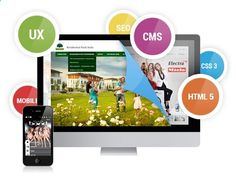 We offer services according to the clients requirement and provide trendy eye-catching well developed website using PSD to HTML with JS support and SEO strategy.
