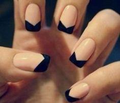 Tuxedo Nails @Luuux