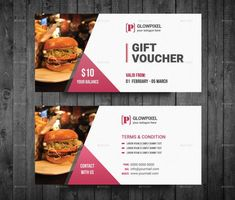 This article curates the best templates for your restaurant's breakfast coupons. Voucher Template Free, Gift Certificate Template, Gift Certificates, Restaurant Vouchers, Restaurant Coupons, Gift Voucher Design, Food Advertising, Print Templates, Design Templates