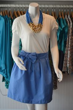 You'll be the most stylish UNC fan in Kenan Stadium in this outfit from Hadley Emerson