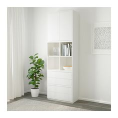 Latest Snap Shots EKET Storage combination with base frame - white, light gray - IKEA Concepts Investing in a well-designed couch is just a big decision and not merely one to create lightly. Interior Design Living Room, Living Room Decor, Kitchen Interior, Dining Room, Ikea Eket, Kallax, Affordable Furniture, Decoration, Home Furnishings