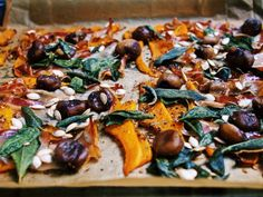 Kürbisrisotto mit Speck, Maronen und Salbei nach Jamie Oliver / http://piasdeli.de/Rezept/kuerbisrisotto-mit-speck-maronen-und-salbei-nach-jamie-oliver/