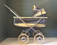 Childs Doll Stroller Pram