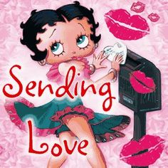 Happy Valentine's Day, Boopsters! ♥ #BettyBoop