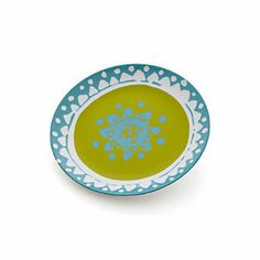 "Mix & Match 8"" Bloom Plate plates to hang on kitchen wall"