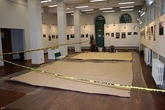 Day 1 of folding Pteranodon in 2007. © Redpath Museum 2011