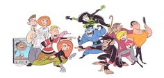 Kim Possible Characters - Stephen Silvers