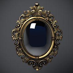 baroque-oval-frame_260947.jpg (600×600)