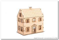 деревянный дом игрушка, фотограф Андрей Фисивский