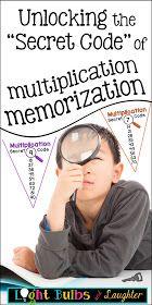 "Unlocking the ""Secret Code"" of Multiplication Memorization - Light Bulbs and Laughter"