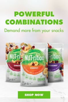 Power your day with NUT-rition nut and fruit mixes. Includes energy, vitamin E, and fiber, they're the perfect snack. Tap the Pin to shop now. Crockpot Recipes, Diet Recipes, Vegan Recipes, Cooking Recipes, Shake Recipes, Recipies, Chicken Parmesan Recipes, Broccoli Recipes, Macaroni Cheese Recipes