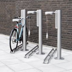 The #Bike Pit A secure and adaptable bike rack