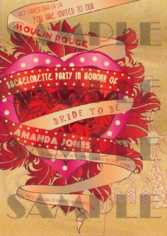 1000+ images about Moulin Rouge Party Ideas on Pinterest ...