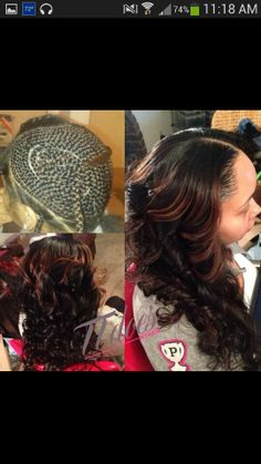 Protective hairstyle - Sew in.