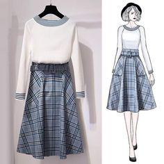 29 ideas fashion design sketches clothing style for 2019 – Fashion Models Korea Fashion, Asian Fashion, Look Fashion, Trendy Fashion, Fashion Trends, Classy Fashion, Party Fashion, Young Fashion, Fashion Ideas