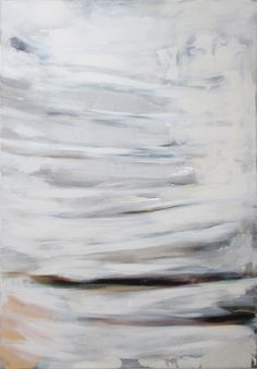A winter day, 120x80cm, oil and metal leaf on canvas, Riikka Soininen 2014