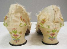 The MET  Shoes 18th century