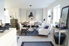 Vårt nya vardagsrum! | Simplicity
