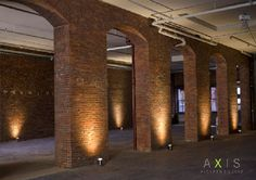New to Seattle, AXIS is the refurbished former home of Elliott Bay Book Co in Pioneer Square. The brick arches and antique floors are AMAZING! Check them out!
