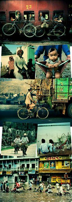 Um mundo de bicicletas