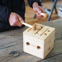 Drums Artwork, Wood Projects, Projects To Try, Homemade Instruments, Box Guitar, Art Case, Soft Sculpture, Wood Toys, Musical Instruments