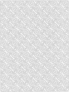 Creative Haven Tessellations Coloring Page