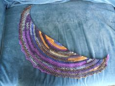 Pico Bandito is a simple crescent shaped scarf I designed largely by accident. I use about 150-200 yards and create a scarf that fits nicely around my neck. For the original scarf I used an h hook and...