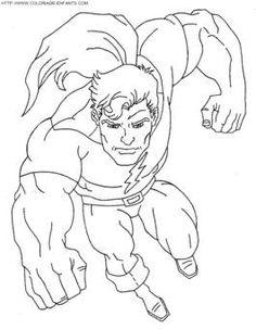 imagenes de super heroes para colorear - MySearch
