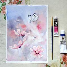 Watercolorist: @svekla_art  #waterblog #акварель #aquarelle #painting #drawing #art #artist #artwork #painting #illustration #watercolor #aquarela