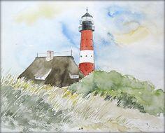 """""""Sylter Impressionen"""" - Aquarell / Watercolor - 24 x 30 cm - Original"""