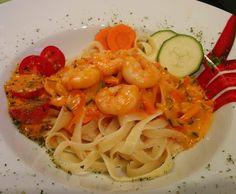 Pasta Scampi / Nudeln mit Garnelen  von MaLi488 auf www.rezeptwelt.de, der Thermomix ® Community