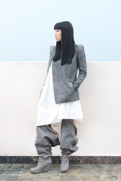 Rick Owens. Another great Rosenrot look.