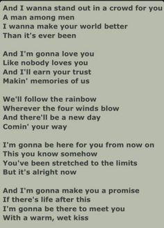 i wanna love you like nobody loves you