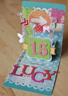 The Dining Room Drawers: Sizzix Pop 'n Cuts Cards