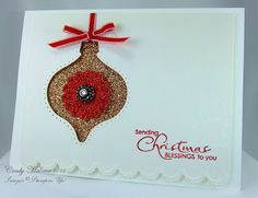 Discover Stamping: Glimmer Ornament