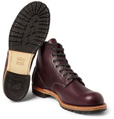 Named after the company's founder, Mr Charles Beckman, Red Wing Shoes' boots hark to its turn-of-the-century workwear origins. Constructed from supple leather and custom-tanned, this rubber-soled lace-up pair encapsulates the company's dedication to supreme comfort and durable design.