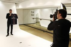 Paris Saint Germain introduced David Beckham
