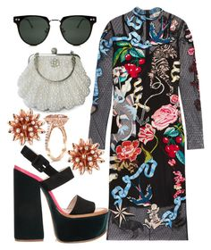 """""""Planned Date Tonight💖"""" by mdfletch on Polyvore featuring Temperley London, Victoria Beckham, Spitfire, Gucci and datetonight"""
