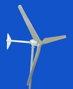 """2000W Wind Turbine w/controller 48/96/120V Manufactured by Oulu Wind Products 5 yr Warranty Requires at least a 4"""" steel pipe for mounting. Not included. Allow 3-4 weeks for delivery. Extra shipping a"""