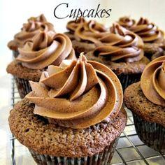 German Chocolate Cupcakes by LadyBehindTheCurtain