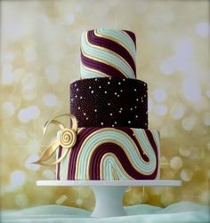 """""""Pearls and Swirls"""" ~ very creative!  ~ all edible"""